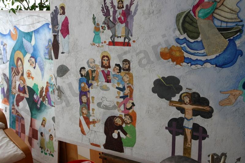 proceso mural Sta. Mª La Blanca