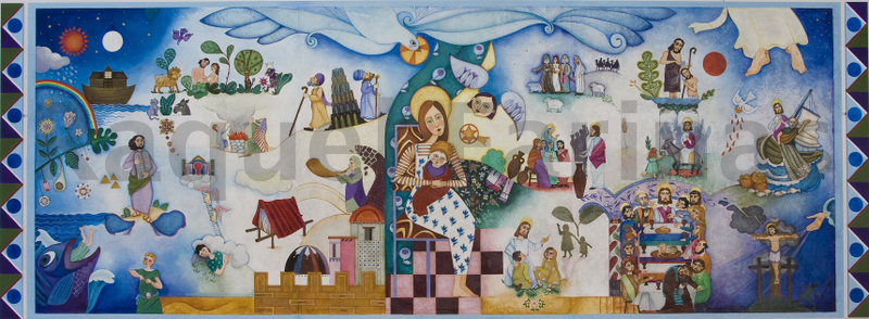 mural Sta. Mª La Blanca