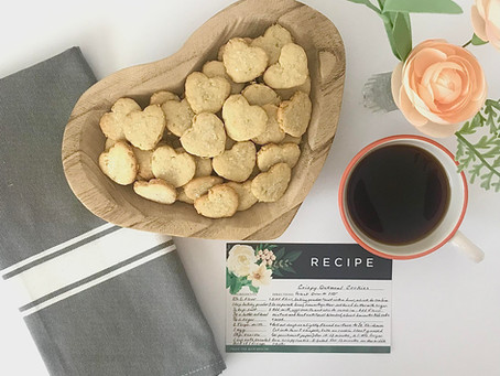 Crispy Oatmeal Cookie