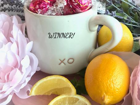 XO MUG Winners & a Yummy Soup Recipe!