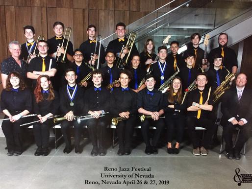 Congratulations Napa High School Jazz Band!