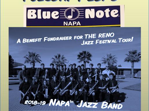 Napa High Jazz Band - LIVE @ Blue Note!