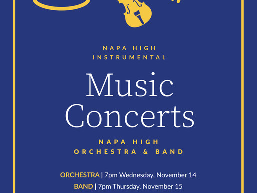 Fall Concerts This Week!