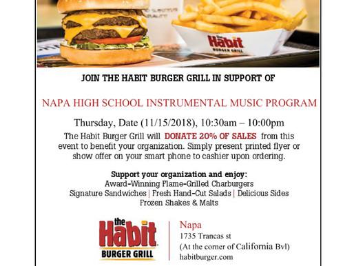 Dine & Donate | THURSDAY, Nov 15