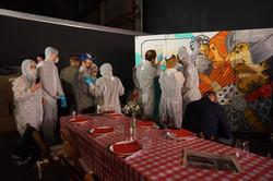 barcelona corporate graffiti event