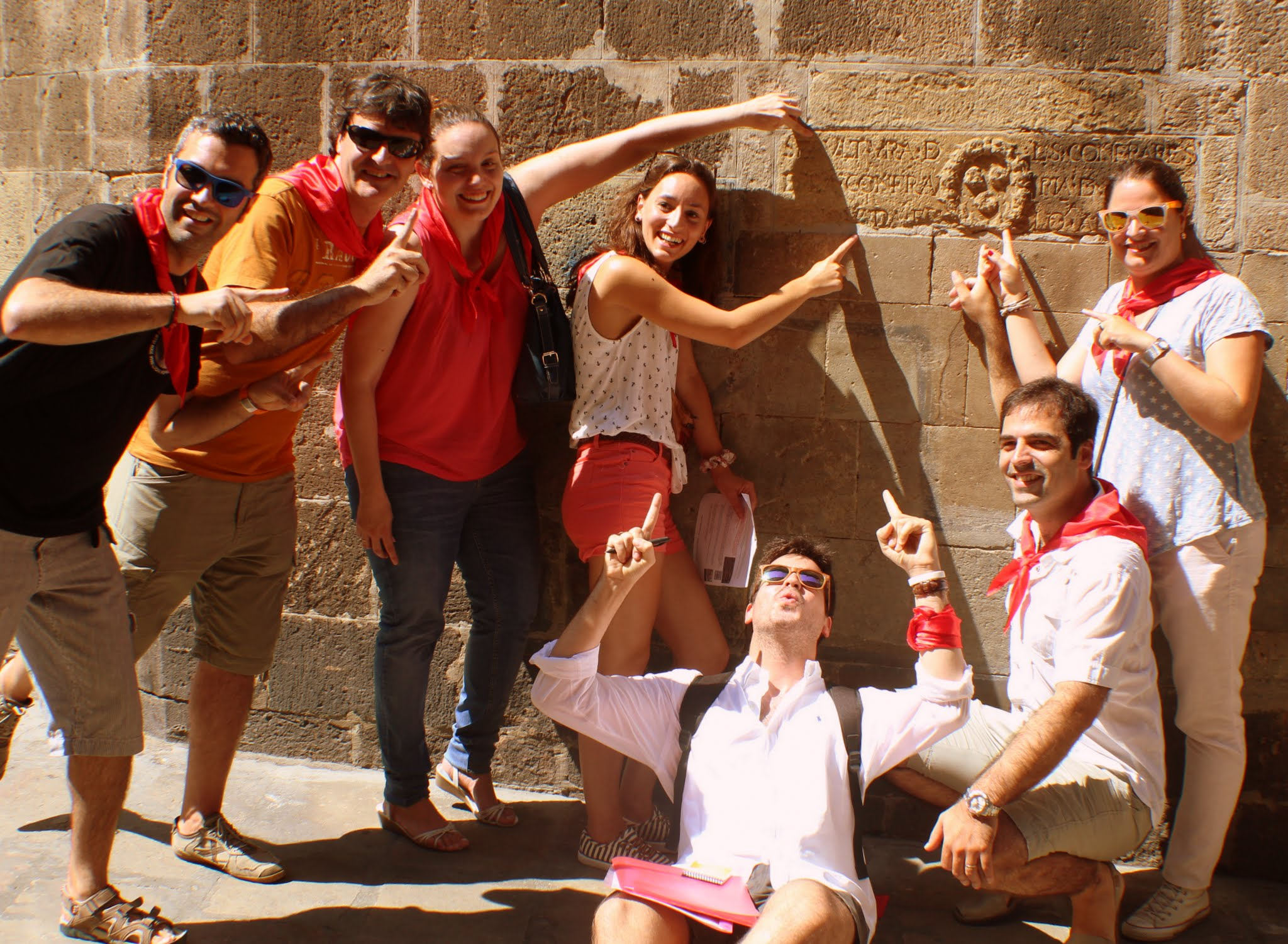 Barcelona scavenger hunt