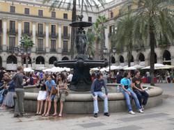 modernist team building barcelona