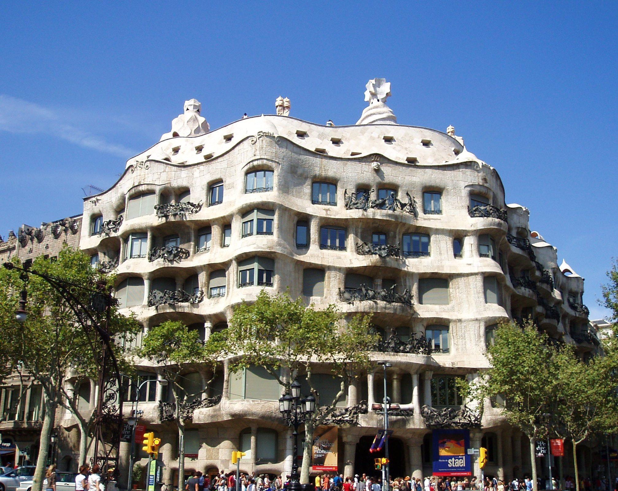 Gaudi's scavenger hunt in Barcelona