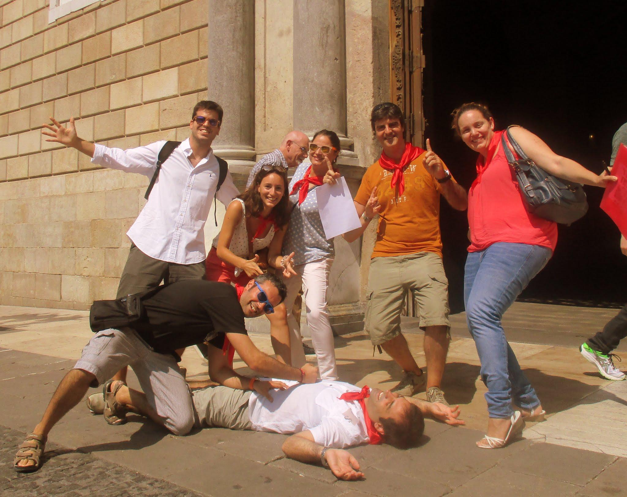 fun corporate activity in barcelona
