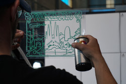 Graffiti workshop Barcelona