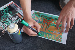 Barcelona graffiti workshop