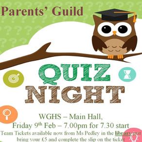 Parents' Guild Quiz Night!