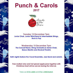 Punch and Carols - Tickets on Sale!