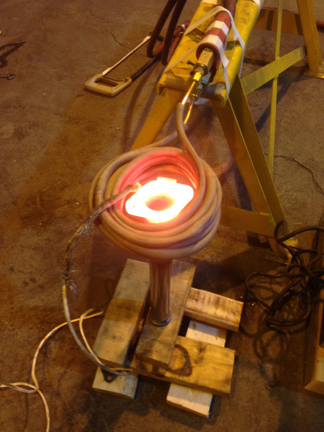 Induction Brazing, 1000C