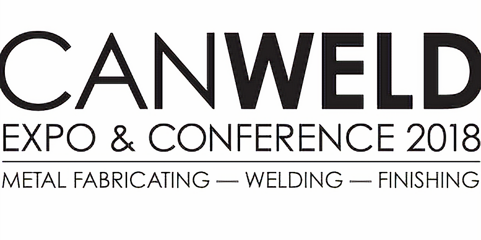 CANWELD 2018 - Booth 224