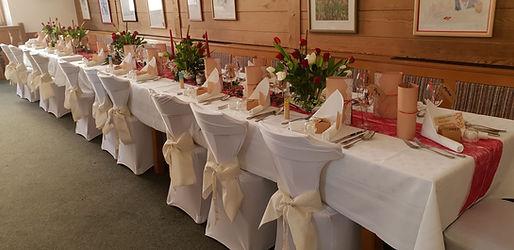 Hochzeit rustikal, Bräustatt und Taferne