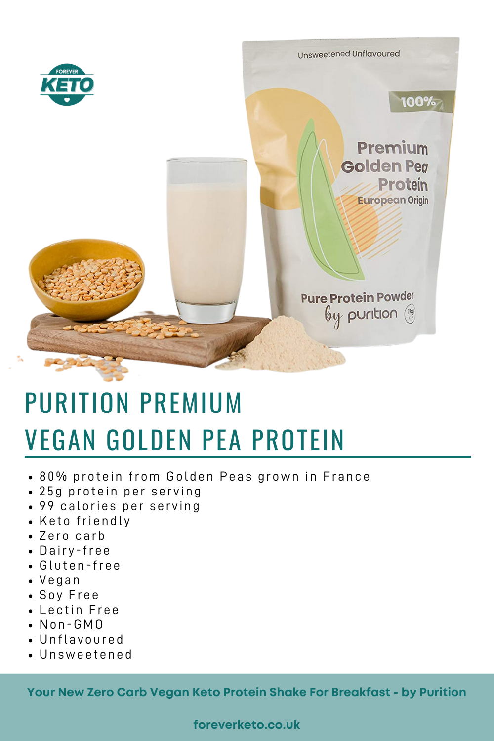 Looking for a Zero Carb Vegan Keto Protein Shake For Breakfast?