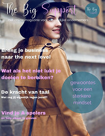 Voorkant The Big Support magazine mei 20