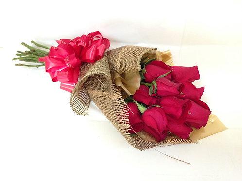 Buquê Isabelle 12 Rosas