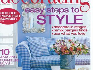 Feature in Decorating Magazine