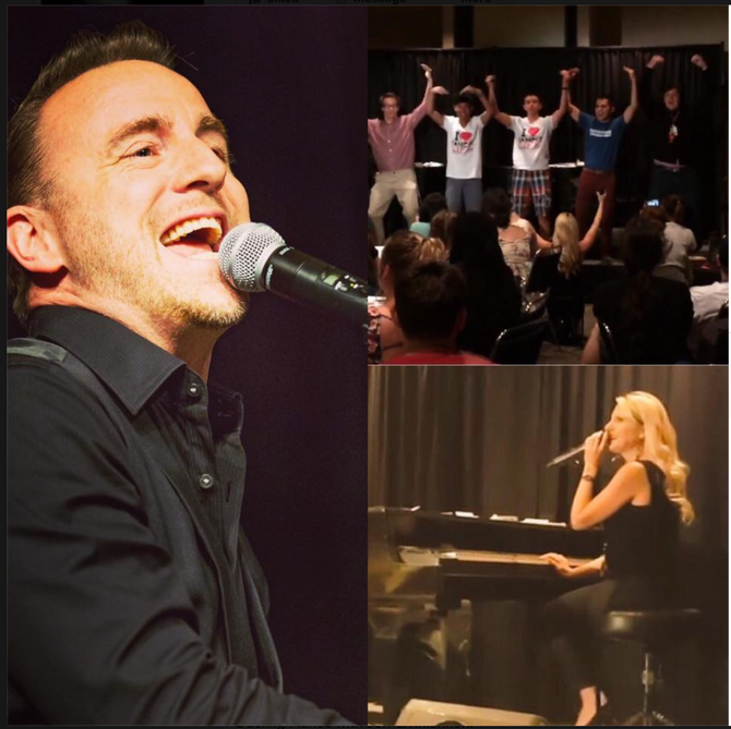 Dueling Pianos College Show