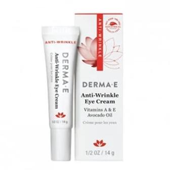 Derma E Anti-Wrinkle Vitamin A Eye Creme .5 oz