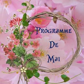 Programme des activités de mai : ateliers créatifs, événements, sorties...