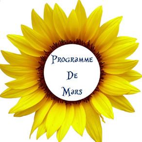 Programme des activités de février : sortie, atelier, rencontre et partage...
