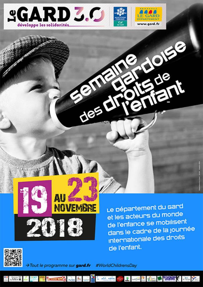 Mosaïque en Cèze accueille dans ses locaux l'exposition sur lesDroits de l'Enfantd'Amnesty International.