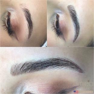 Nano Hair Stroke Eyebrows Boca Raton