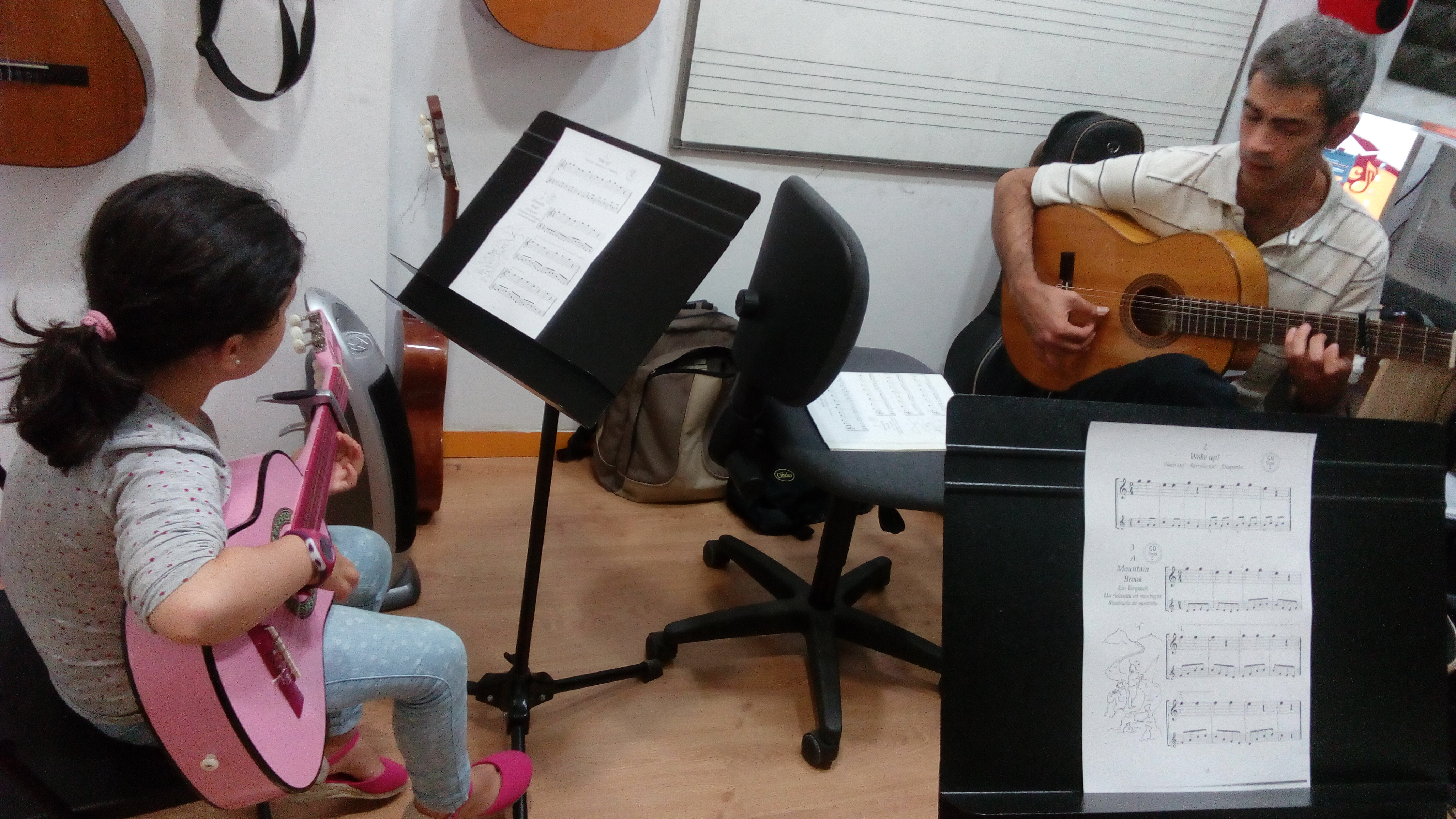 Clases de Guitarra The Music House
