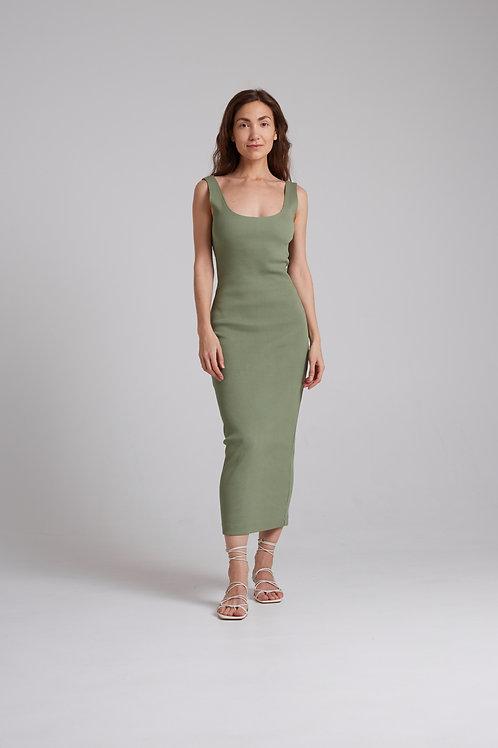 Платье-майка из кашкорсе