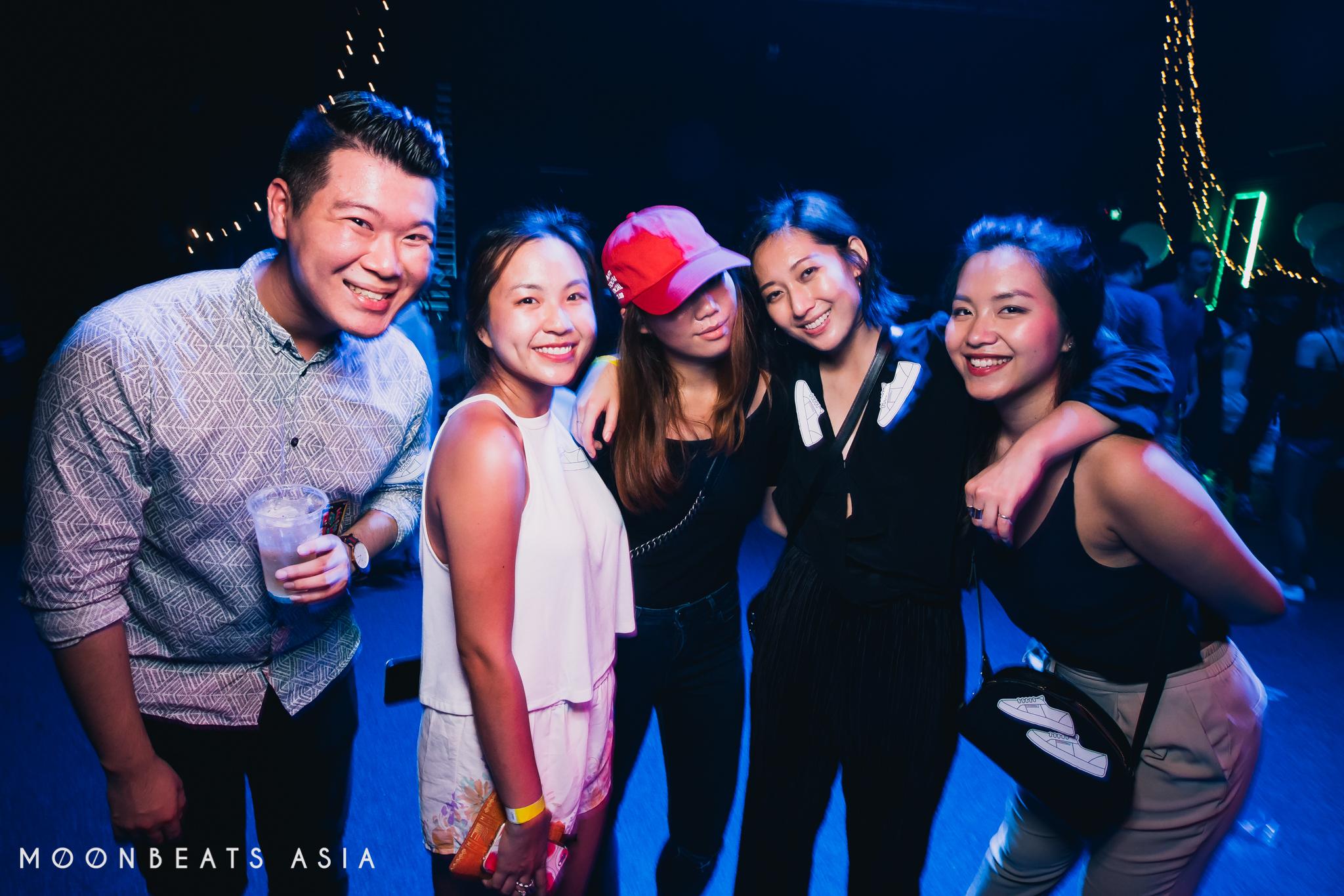 Moonbeats Warehouse Party, 16 April