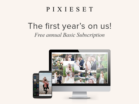 Win a free year of Pixieset!  August 2018 Contest is live!
