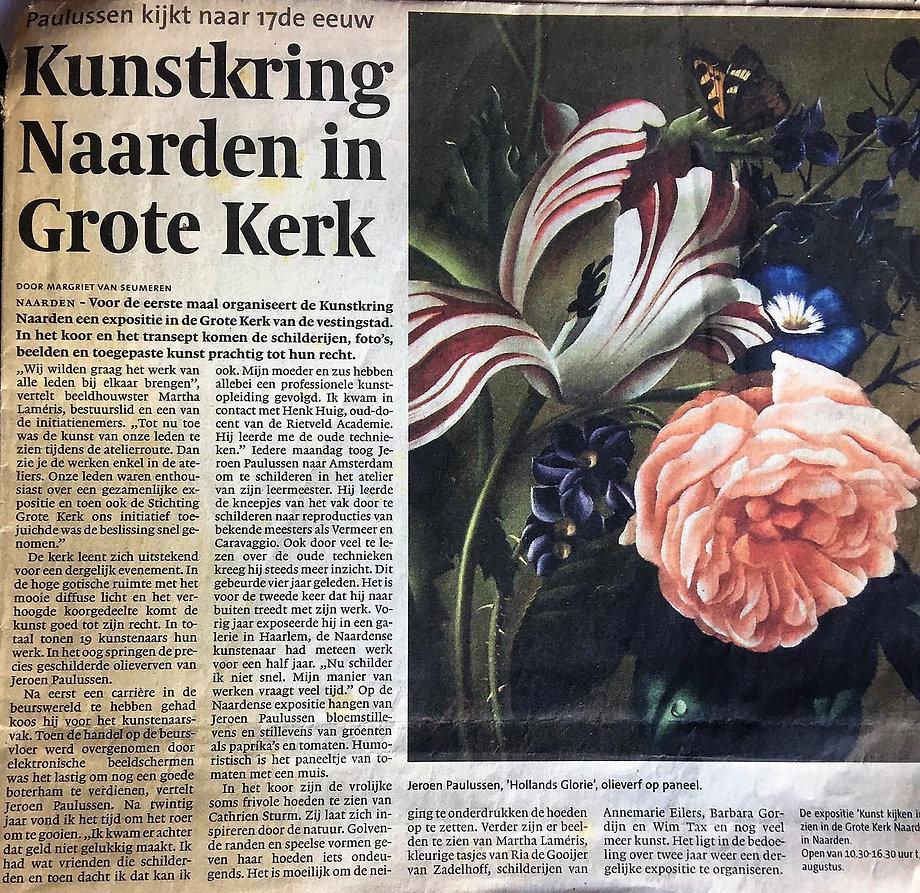 Gooi-en Eemlander newspaper, article 21.