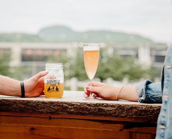 Drinks on outdoor bar.jpg