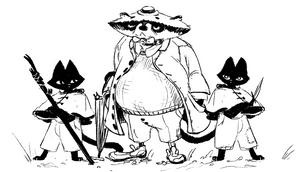 RaccoonAnd2BlackCat.png