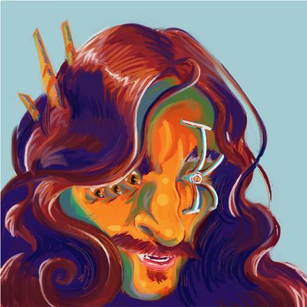 Cyberized Portrait