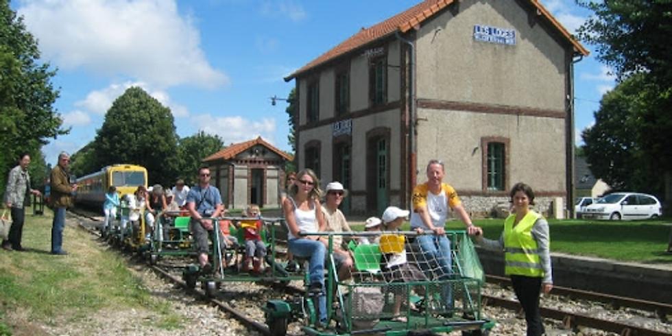 JEP 2020 - Etretat - découverte du train touristique et du vélorail