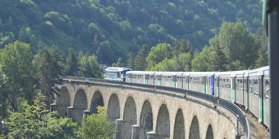 JEP 2020 - Train Spécial Clermont - Viaduc GARABIT - Mende - Clermont