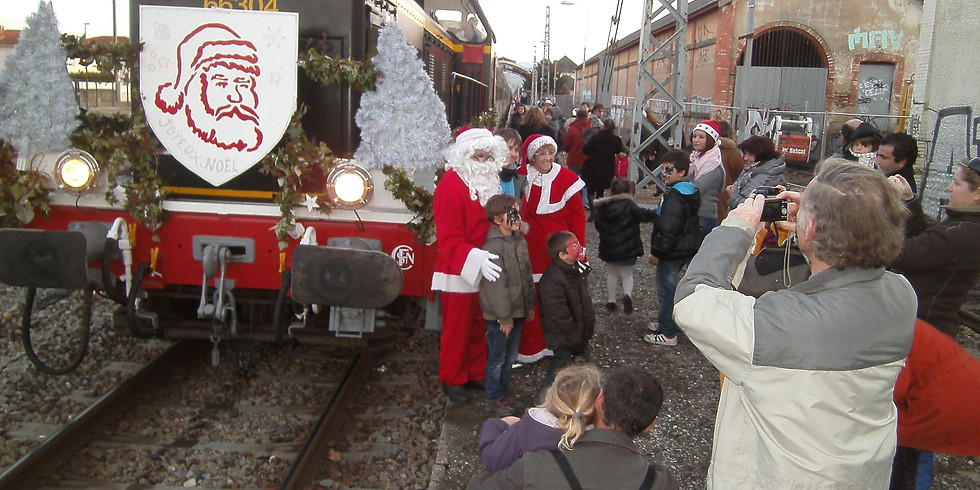 Train du Père NOEL - Toulouse