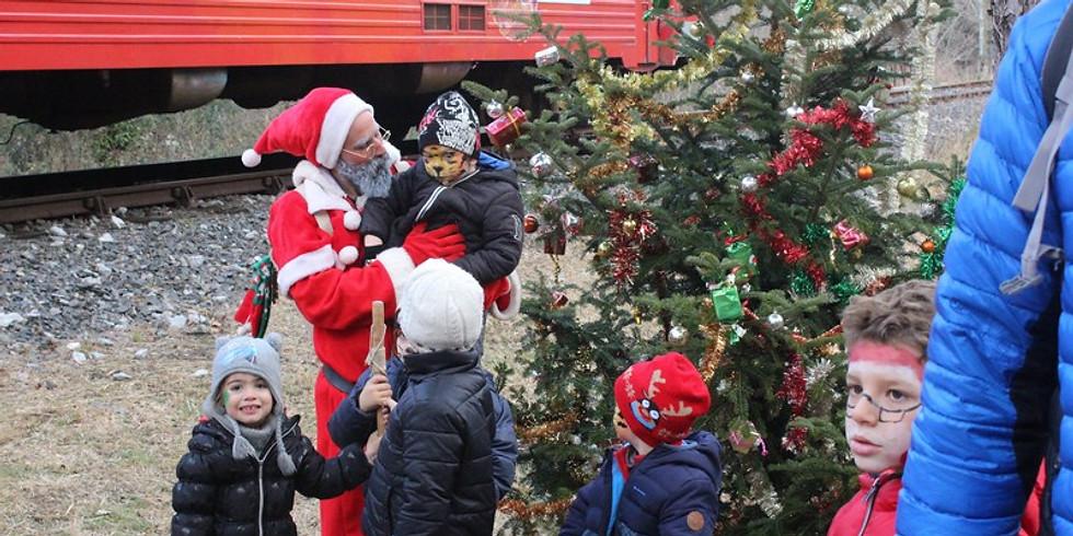 Train du Père Noël - Rivesaltes
