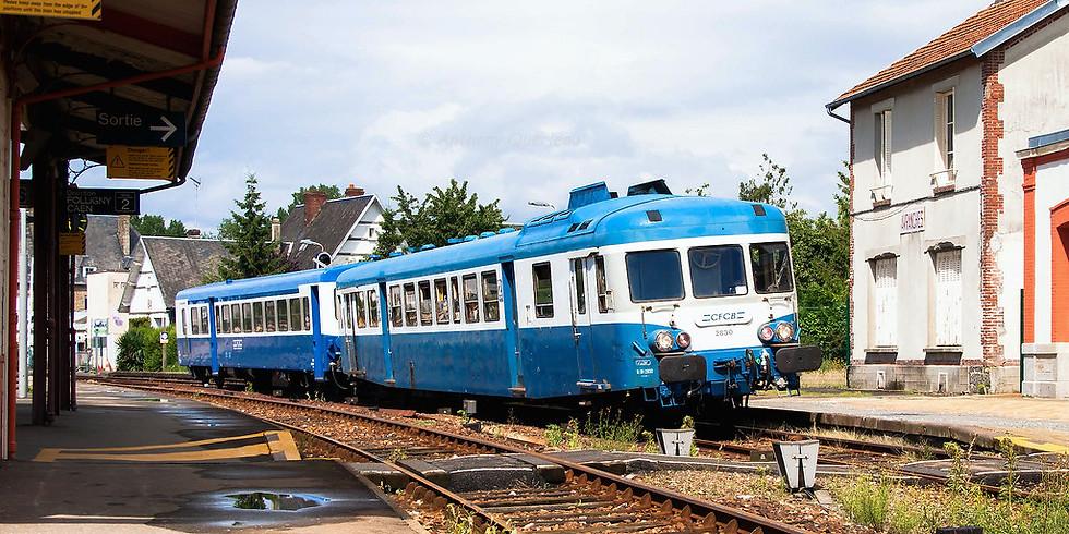 JEP 2020 - Gare de Loudéac Exposition de trains anciens
