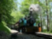 A bord de l'authentique Train à Vapeur, Forestier et Touristique d'Abreschviller