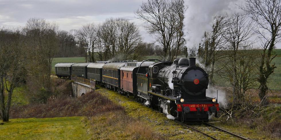 JEP 2020 - Longueville - Fête de la vapeur et trains spéciaux