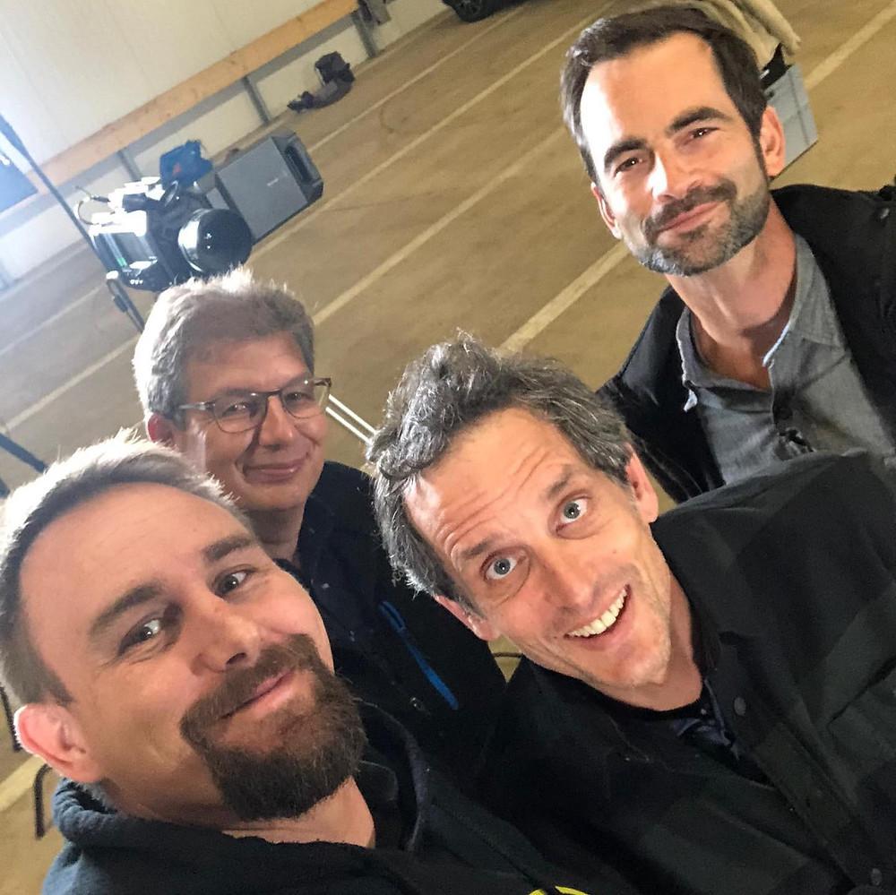 Andreas Aegerter, Christoph Dobler, Christoph Lanz, Matthis Künzler