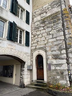 Eingang zum Coaching Raum Solothurn