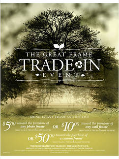 Great Frame Trade-In Event
