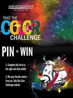 Color Challenge Signage