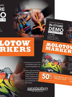 New Product Launch Demo Flyer and Sign